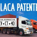 Adhesivo Patente Camión