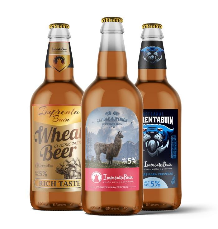 Impresión de Etiquetas para Cervezas Artesanales