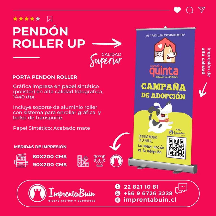 Pendon-roller-up